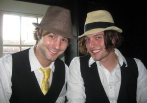 Jerad Anderson and Jackson Rathbone