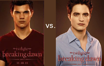 Jacob versus Edward